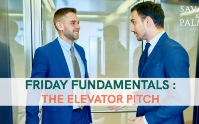 SavPalm Friday Fundamentals – How Do You Craft The Perfect Pitch