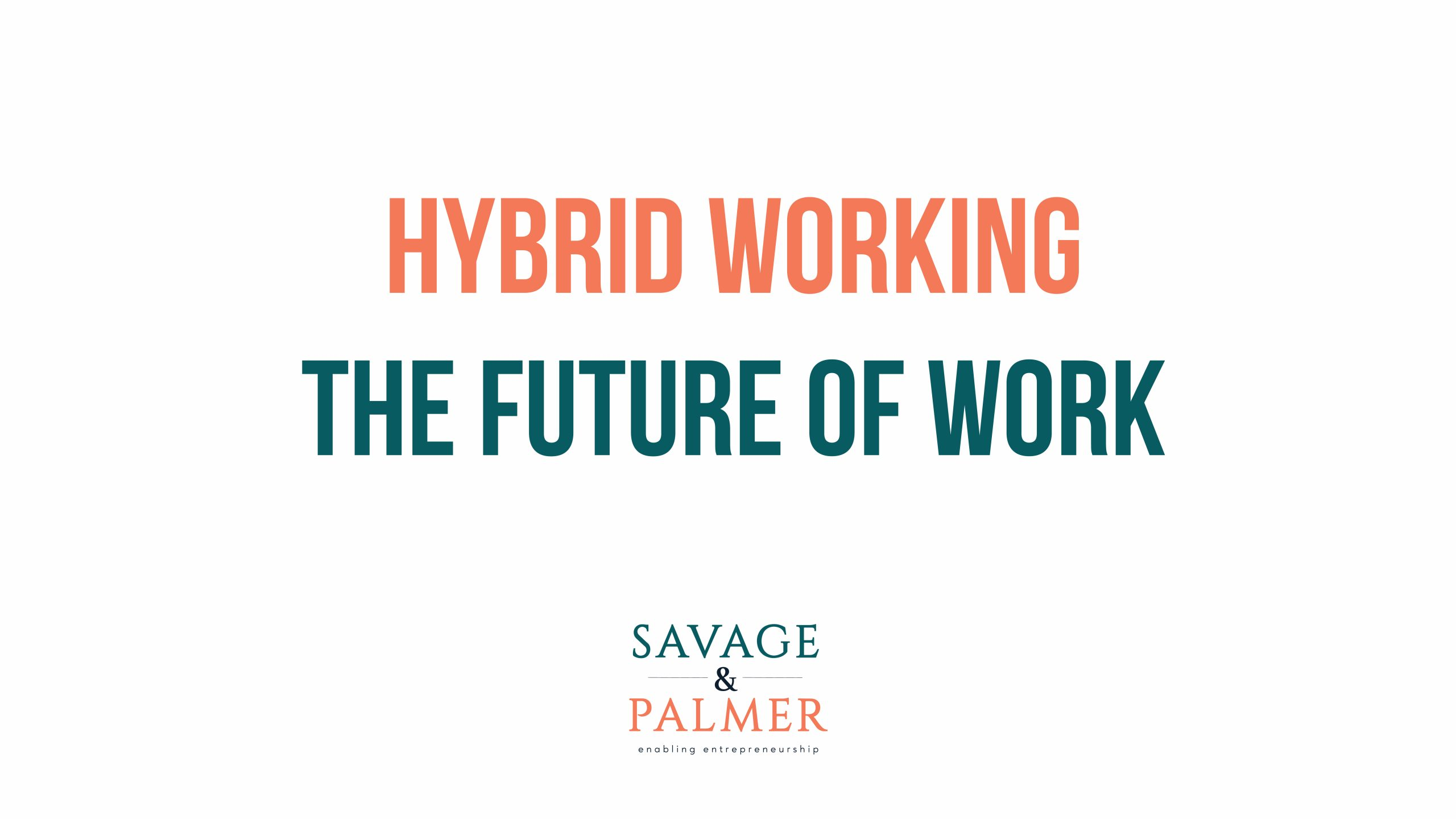 hybrid working