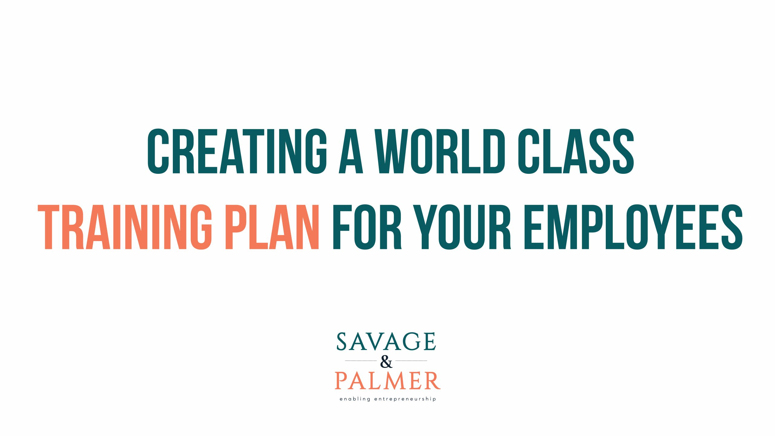 Training plan for your employee